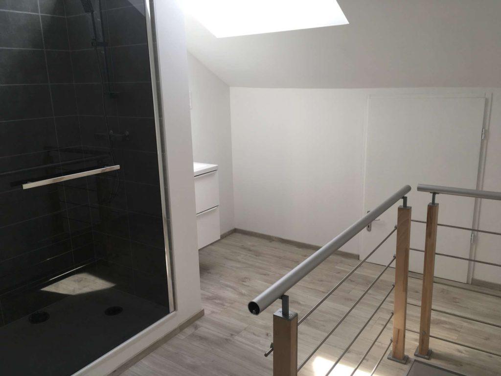 Cr ation d 39 une salle de bain cl en main delcey entreprise travaux de r novation int rieur et - Prix d une salle de bain cle en main ...