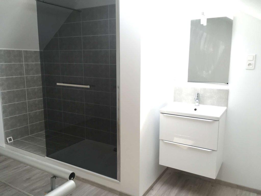 Création d'une salle de bain clé en main